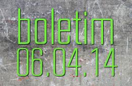 Boletim 06.04.2014