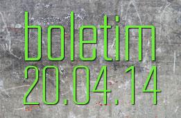 Boletim 20.04.2014