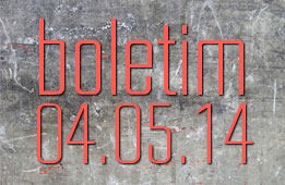 Boletim 04.05.2014