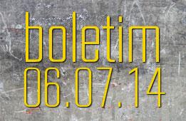 Boletim 06.07.2014