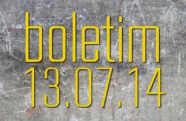 Boletim 13.07.2014.