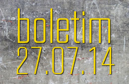 Boletim 27.07.2014