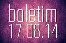 Boletim 17.08.2014