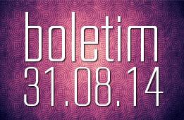 Boletim 31.08.2014