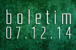 Boletim 07.12.2014