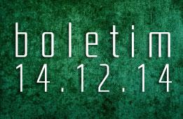 Boletim 14.12.2014