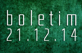 Boletim 21.12.2014