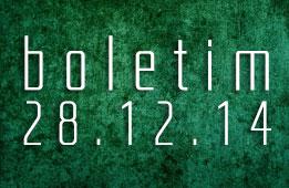 Boletim 28.12.2014