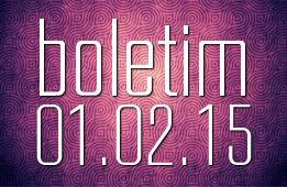 Boletim 01.02.2015