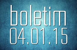 Boletim 04.01.2015
