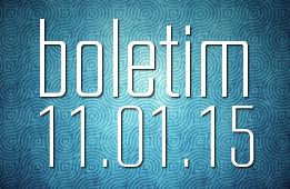 Boletim 11.01.2015