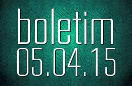 Boletim 05.04.2015