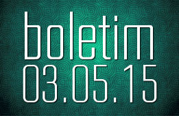 Boletim 03.05.2015