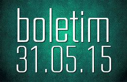 Boletim 31.05.2015