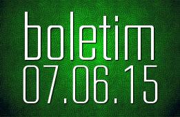Boletim 07.06.2015