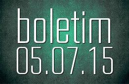 Boletim 05.07.2015