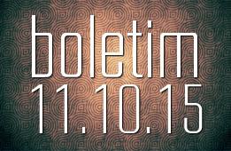 Boletim 11.10.2015