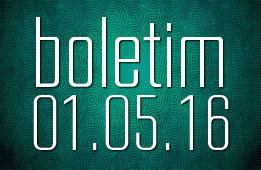 Boletim 01.05.2016