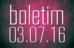Boletim 03.07.2016