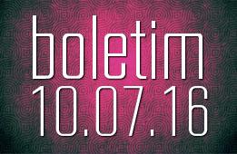 Boletim 10.07.2016