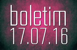 Boletim 17.07.2016
