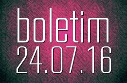 Boletim 24.07.2016